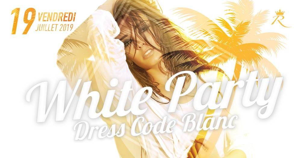 WHITE PARTY AU RICHEBOIS DISCOTHEQUE SALON DE PROVENCE